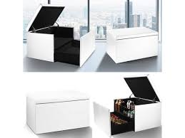 coffre siege rangement coffre rangement banquette luxe blanc spécial chaussures vente