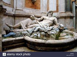 statue of greek god zeus rome italy south east europe stock photo