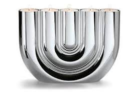 philippi germany double u contemporary tealight candle holder