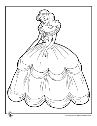 coloring cute cinderella color pages coloring