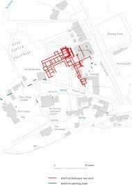 Ancient Roman Villa Floor Plan by Box Roman Villa