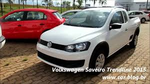 vw saveiro vw saveiro trendline 2015 www car blog br youtube