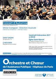 siege aphp concert d automne 2017 espace musical de l ap hp