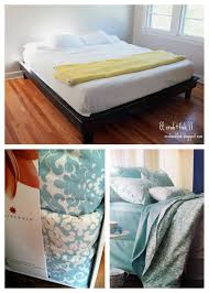 How To Make A Box Bed Frame Up Your Box Just Add Legs To It Therealsweetheart