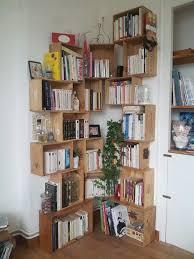 How To Make A Corner Bookshelf The 25 Best Corner Bookshelves Ideas On Pinterest Book Wall