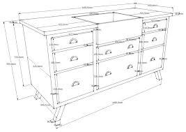 hauteur standard meuble cuisine dimension meuble cuisine irene