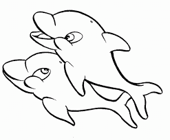 coloring pictures of dolphins coloring home