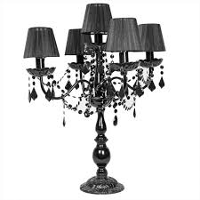 black chandelier table lamp lighting collection u0026 ideas