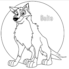 balto wolf coloring page 081 wecoloringpage coloring home