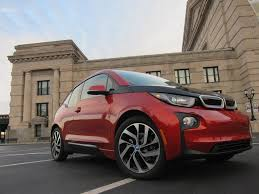 white girly cars one year with an all electric bmw i3