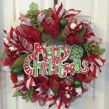 christmas mesh wreaths best and green christmas deco mesh wreath products on wanelo