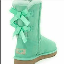 ugg boots sale with bow 37 ugg boots flash sale ugg bailey bow aqua surf spray