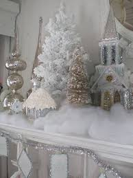White Christmas Party Decoration Ideas by A Guide To Christmas Mantel Decorating Ideas Christmas Designers