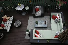 deck furniture layout get wise to size how to furnish an outdoor room small to spacious