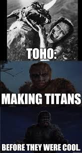 Funny Attack On Titan Memes - toho made titans before attack on titan memes quickmeme