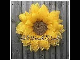 burlap sunflower wreath braided sunflower wreath tutorial julies wreath boutique