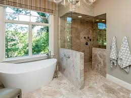 Bathroom Layouts With Walk In Shower Shower Bathroom Designs Walk In Shower No Doorall Or Curtain
