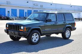 2000 green jeep cherokee davis autosports jeep cherokee sport xj for sale youtube