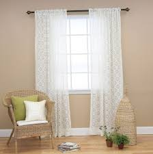 Lace Trim Curtains Sheer Lace Curtains Window Home Design Ideas