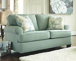 Teal Sofa Set by Levon Loveseat Ashley Furniture Homestore