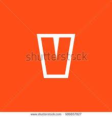 letter v vector logo useful branding stock vector 509854192