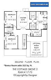 cottage grove 2 house plan house plans by garrell associates inc