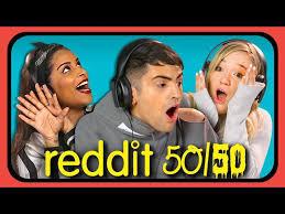 Challenge Reddit Youtubers React To Reddit 50 50 Challenge Viralvideos Gr
