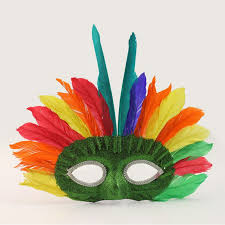 feather mask aliexpress buy 2017 new indian feather mask half masks