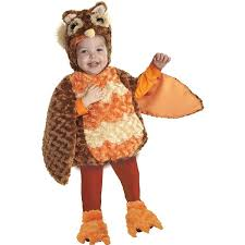 18 24 Month Boy Halloween Costumes Amazon Underwraps Toddler U0027s Owl Belly Babies Brown Orange