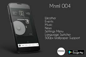 Miminal by Minimal For Kustom Klwp Android Apps On Google Play