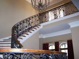 Wrought Iron Banister Stairs Outstanding Wrought Iron Handrail Wrought Iron Handrail