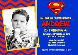 superman birthday invitations superman birthday invitations and