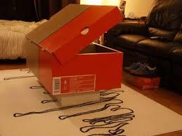 Box Coffee nike shoe box coffee table