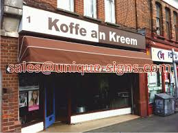 Shop Awnings And Canopies Shop Signs U0026 Canopies Shop Signs U0026 Awnings Uk Sign Writing Cafe