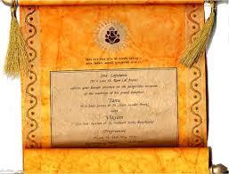 indian wedding scroll invitations designer wedding scroll for indian wedding outstanding