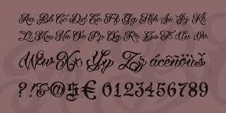 vtc tattoo script two font 1001 fonts