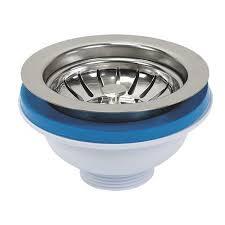 Stainless Steel Strainer Basket For Kitchen Sink Basin Drain Waste - Fitting kitchen sink waste