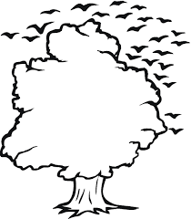 simple tree outline cliparts co