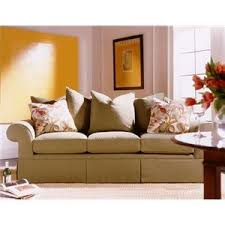 Henredon Settee Henredon Fireside Upholstery Customizable Sofa With Lawson Arms