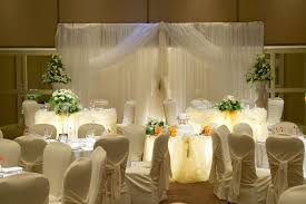 table decoration for wedding party reception hall decor designs wedding head table decorations wedding