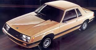 1982 mustang glx
