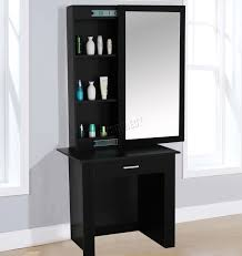 Westwood Wooden Makeup Jewelry Dressing Table With Sliding Mirror