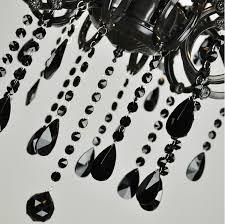 Antique Black Chandelier Aliexpress Com Buy 10 Arms Coffee Shop Antique Black Crystal