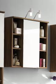 Illuminated Bathroom Mirror - 450 x 600 mm illuminated led bathroom mirror cabinet with shaver