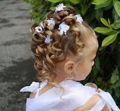 coiffure mariage enfant enfant mariage