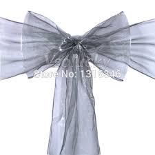silver chair sashes popular sashes bow in silver buy cheap sashes bow in silver lots