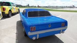 mustang size size 1964 ford mustang built by lego master model builders