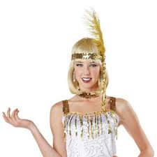 totally ghoul ladies white fringe flapper halloween costume