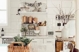 how to decorate a rustic kitchen fabulous farmhouse decorating ideas for every room