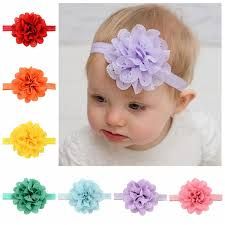 flower bands aliexpress buy 16pcs lot summer style newborn hair